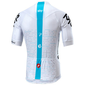 Castelli Team Sky Aero Race 5.2 Maillot manches courtes Homme, white
